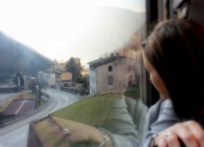 Los Alpes desde el Bernina Expres