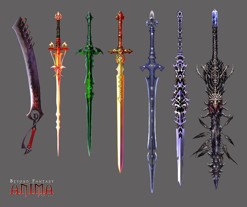 The Pop-Culture Worshipper: Sword Research
