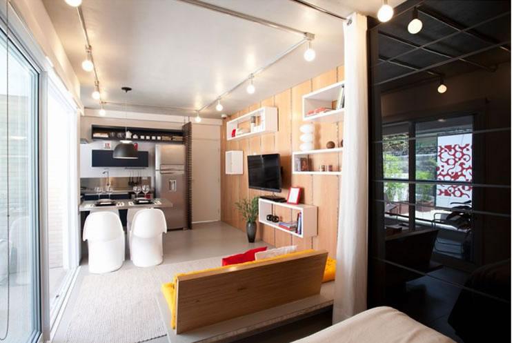 Casa e jardim decore sua casa verde apartamentos for Decorar apartamento pequeno fotos