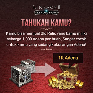 Relic di Lineage 2 Revolution Indonesia