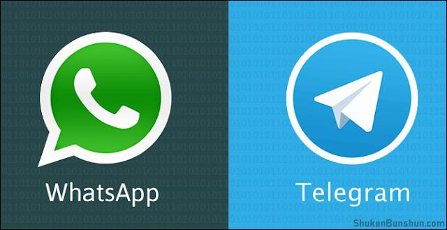 Stiker Telegram di WhatsApp
