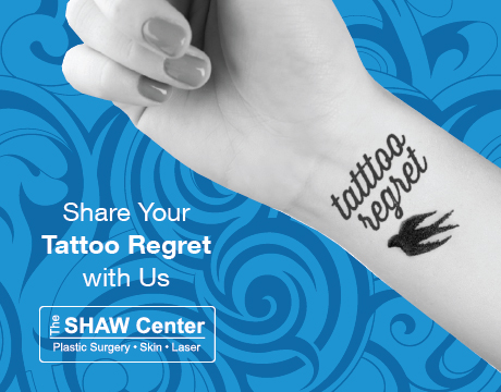 shaw_blog_tattooregret Tattoo Removal Contest - Enter to Win Through December 18!The Spa
