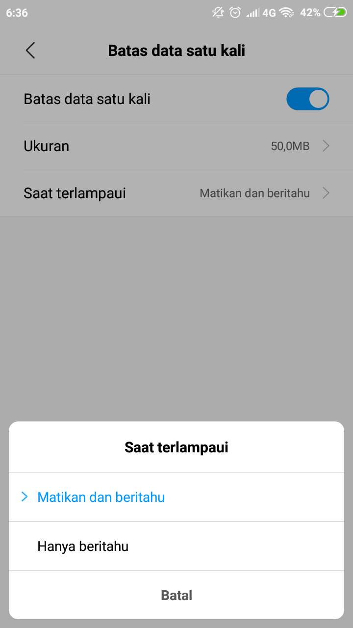 Agar tak boros kuota, cara membatasi penggunaan data hotspot pada ponsel Xiaomi 7
