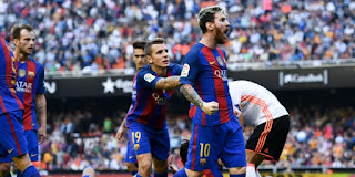 مشاهدة مباراة برشلونة و فالنسيا بث مباشر اليوم 01.02.2018  نصف نهائي كأس الملك الاسباني