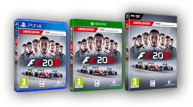 Comparativa gráfica: F1 2016 (ONE-PC-PS4) 1