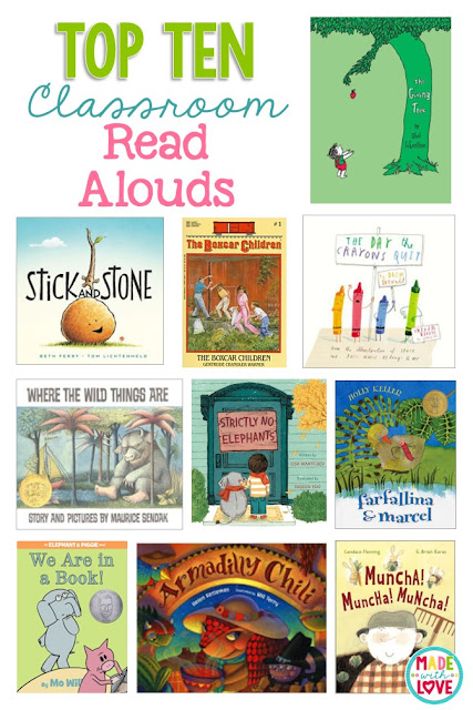 http://www.madewithloveteaching.com/2016/04/top-ten-classroom-read-alouds.html