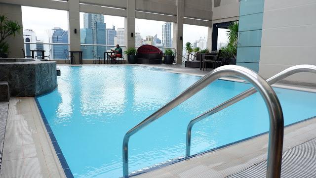 swimming pool city garden hotel makati