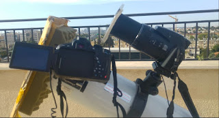 My setup for Mercury transit