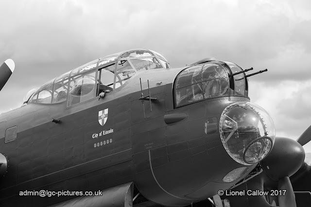 BBMF Lancaster Aircraft Nose