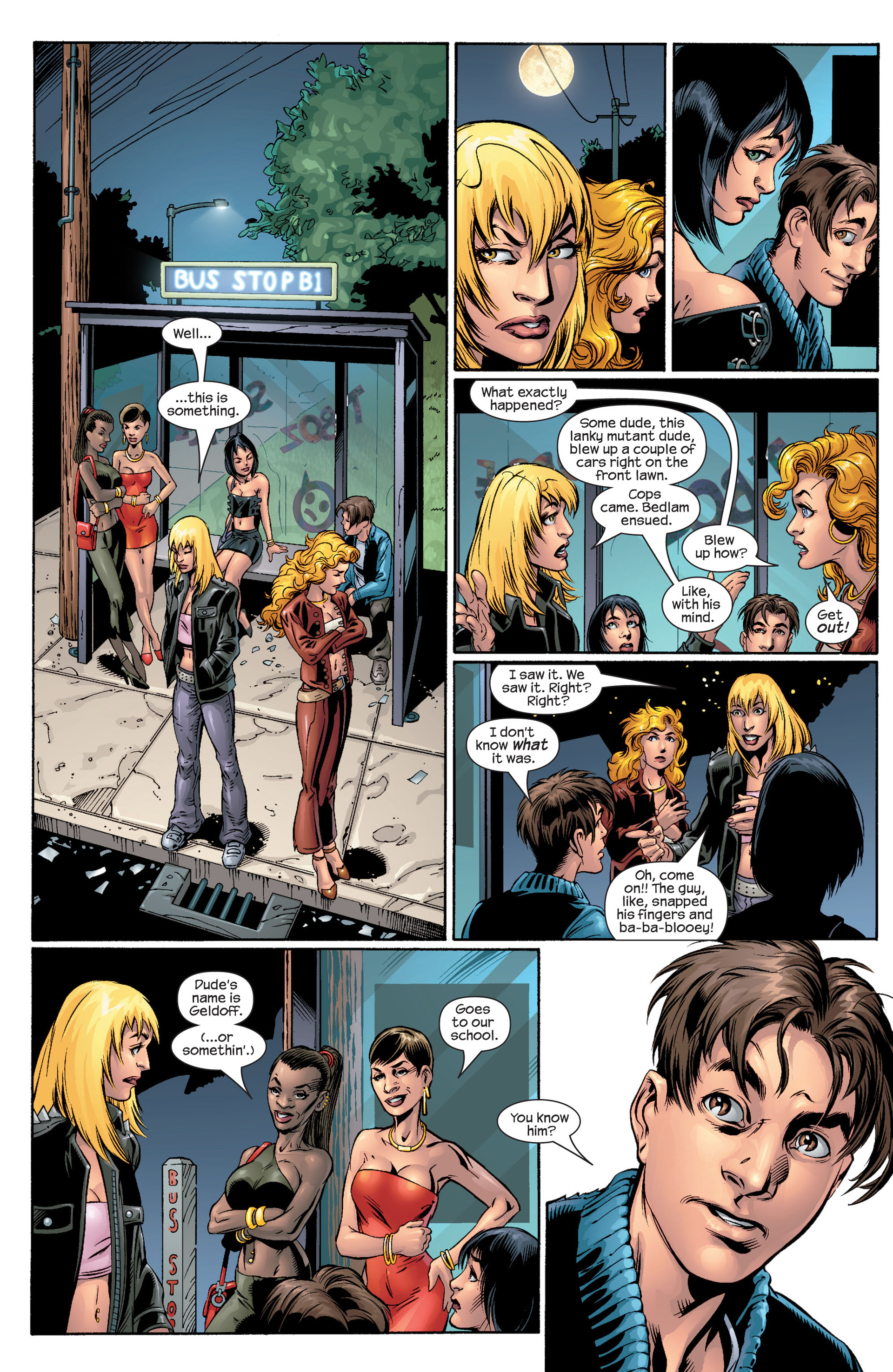 Read online Ultimate Spider-Man (2000) comic -  Issue #41 - 7