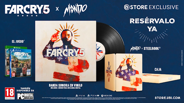 Se presenta Far Cry 5 X MONDO LIMITED EDITION