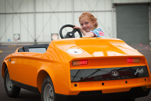 Firefly world's first electric car designed for 5-10 year olds