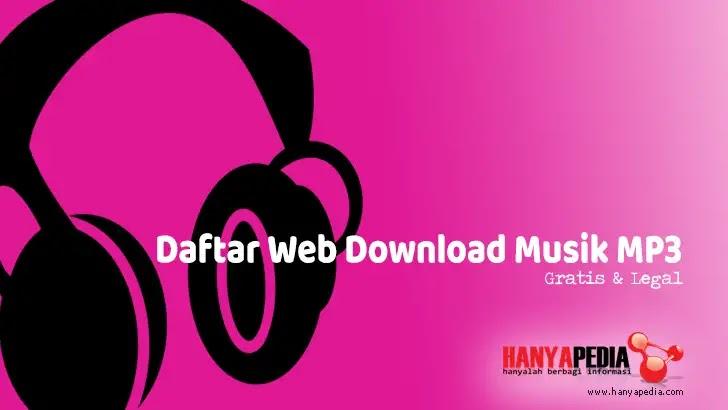 Web Download Musik MP3 secara Gratis dan Legal