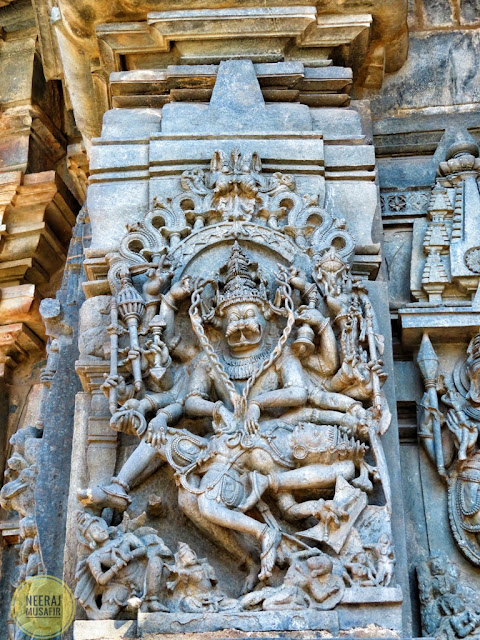 Narasimha Statue in Belur Karnataka