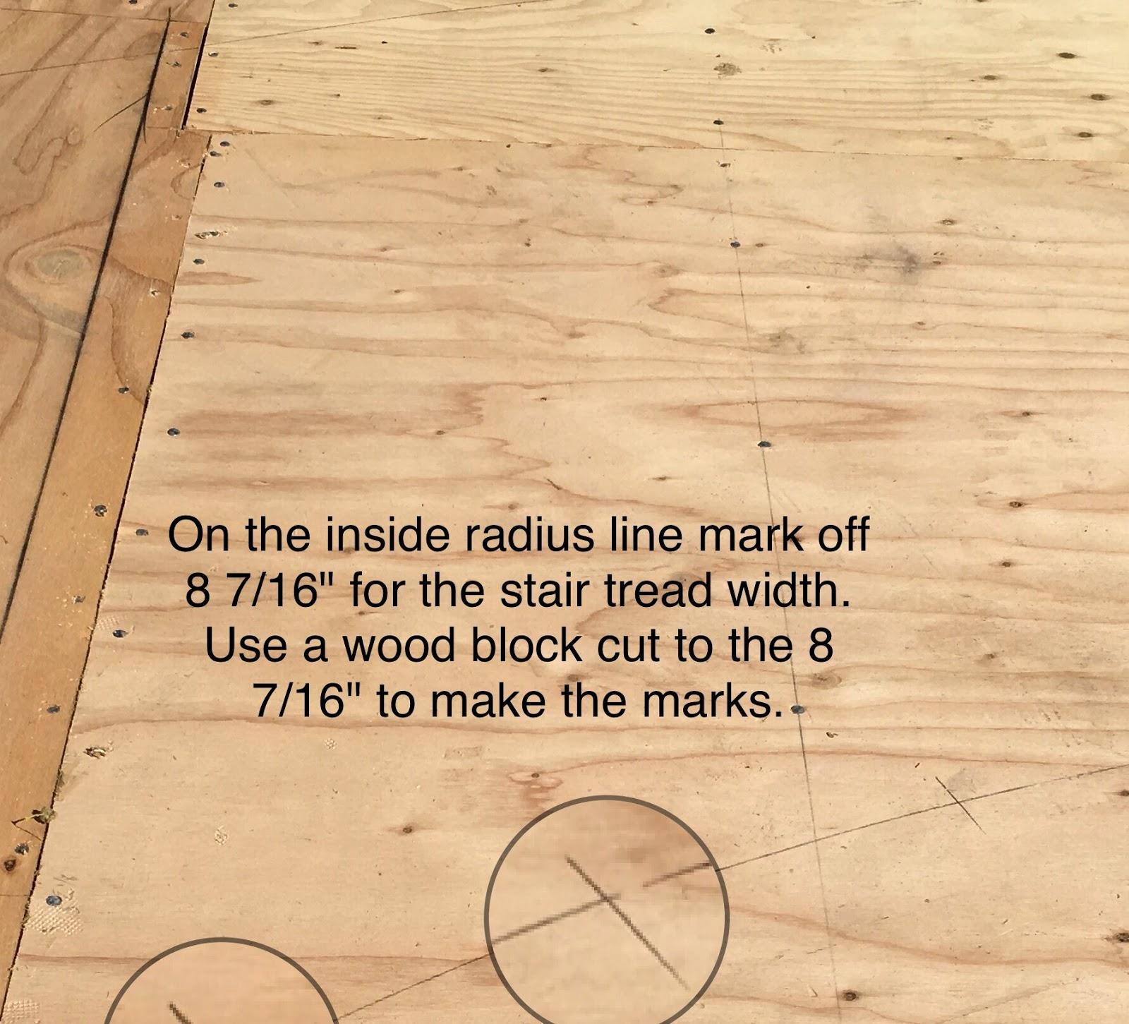 Roof Framing Geometry: Freestanding Circular Stair Stringer Framing