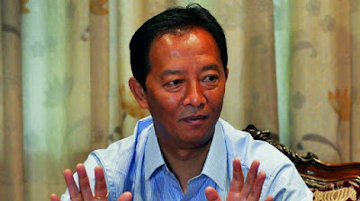 Binay Tamang  chairman of the Gorkhaland Territorial Administration (GTA) Board of Administrators