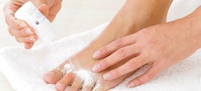 remède pour traiter les champignons des pieds