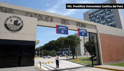 ranking de universidades 2016: solo tres peruanas entre las TOP