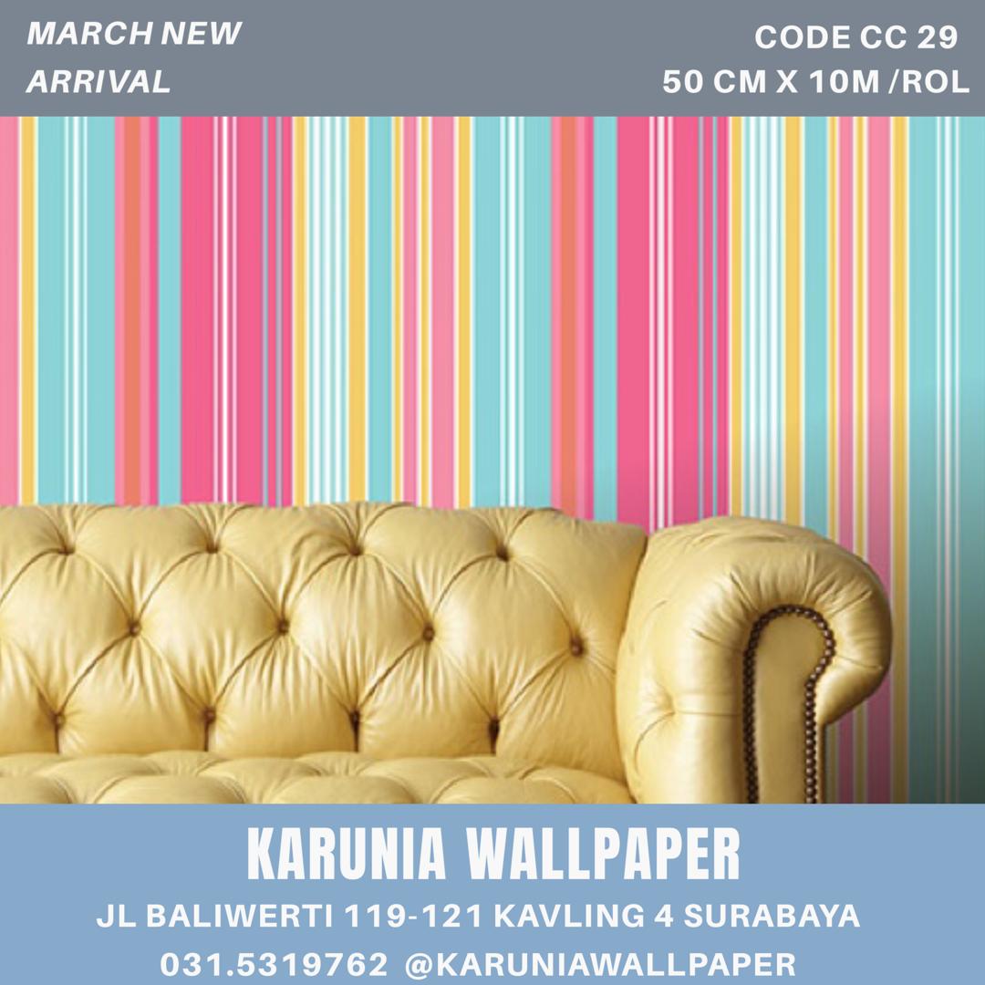 jual dinding wallpaper warna warni surabaya