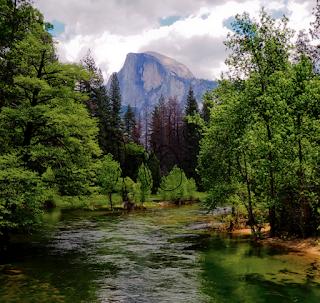 Yosemite Half Dome by Go Inspire Beauty