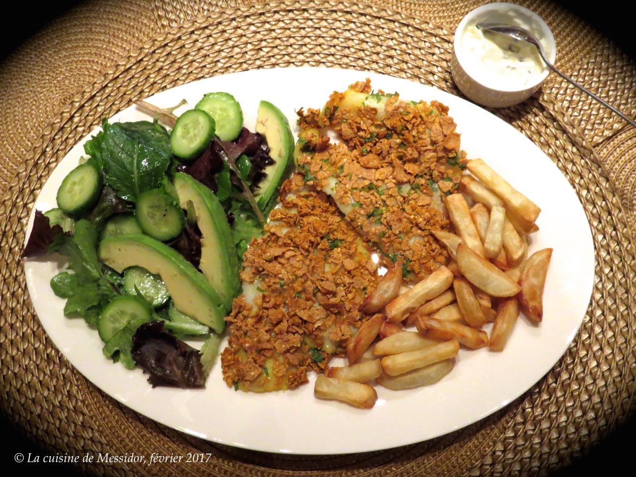 La cuisine de messidor filets de poisson blanc croustillants for Poisson cuisine