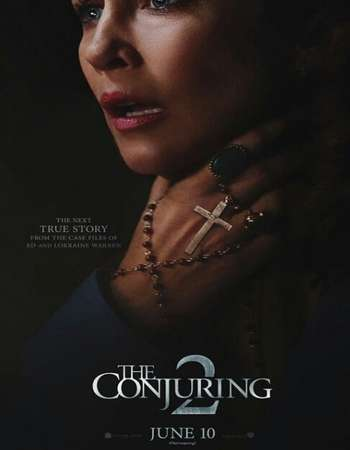 Poster Of The Conjuring 2 2016 Dual Audio 400MB HDTS 480p Free Download Watch Online Worldfree4u