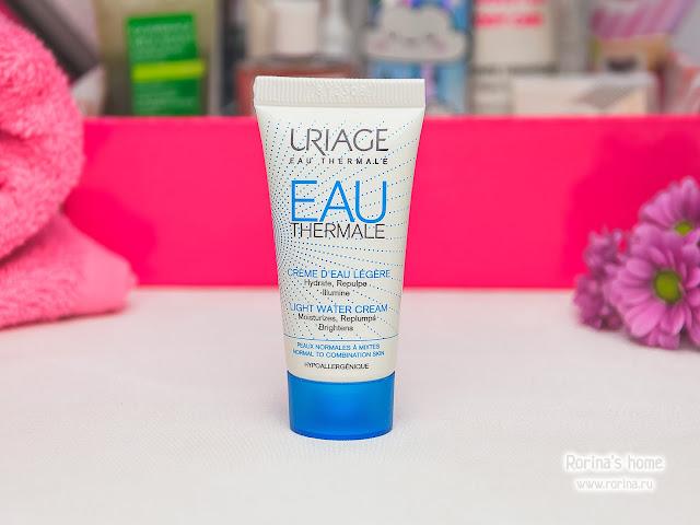 Uriage Легкий увлажняющий крем для лица О'Термаль Eau Thermale Light Water Cream: отзывы