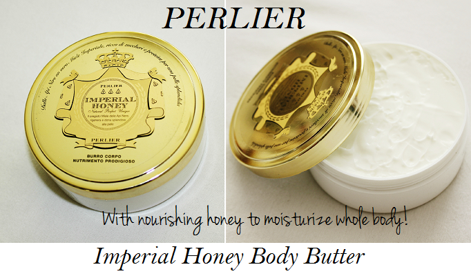 Perlier Imperial honey body butter review