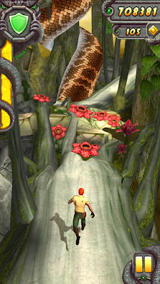 Temple run game play with