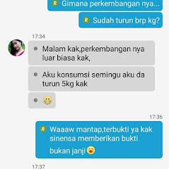 Testimoni Seletah Pemakaian Sinensa Beauty Slim Herbal