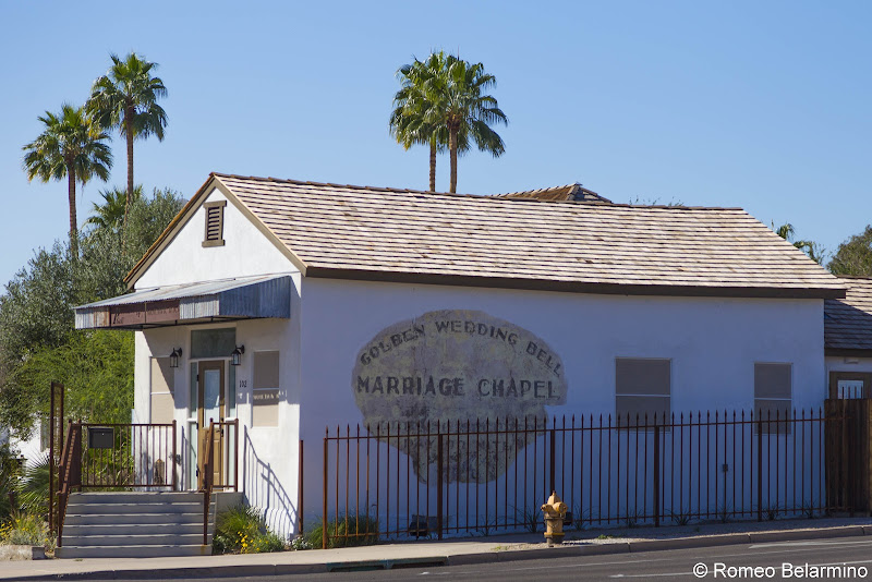 Golden Wedding Bell Marriage Chapel Things to Do in Yuma History