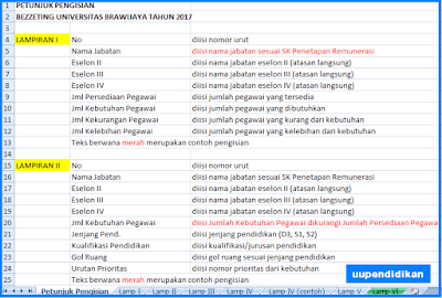 Download Contoh Format Bezetting Terbaru 2017