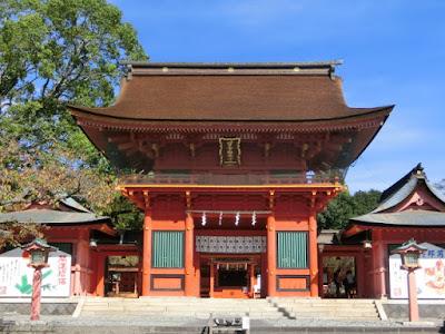 富士山本宮浅間大社楼門