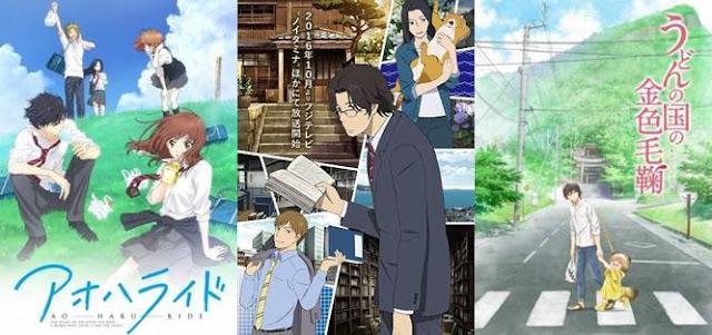 10 Rekomendasi Anime Slice Of Life Terbaik Sepanjang Masa