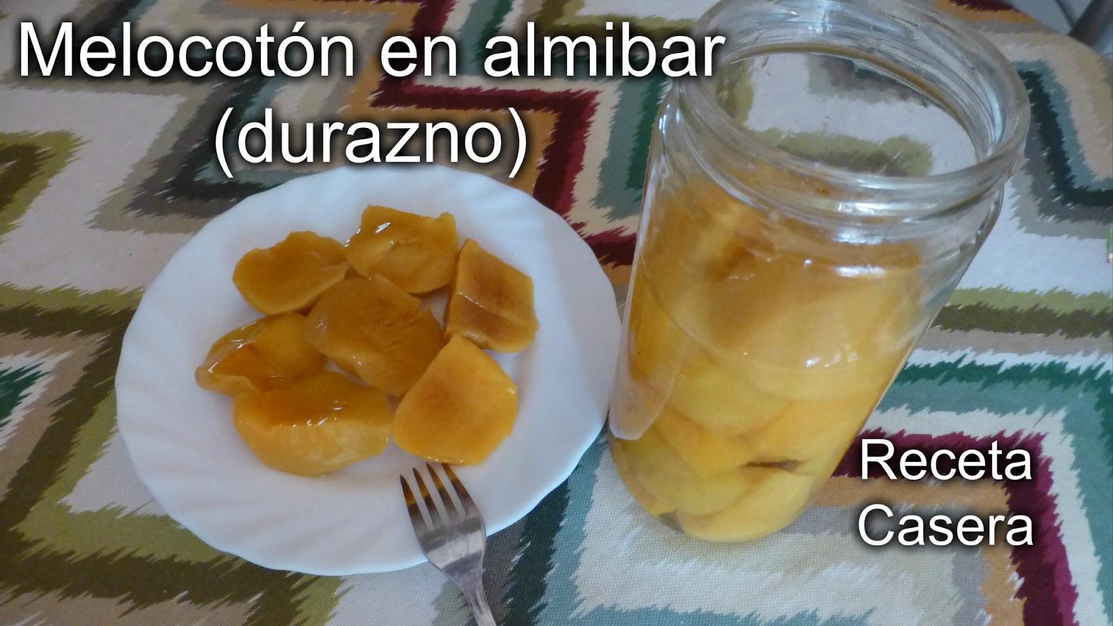 Recetas f ciles de josean mg melocot n en alm bar - Como se hace el almibar ...