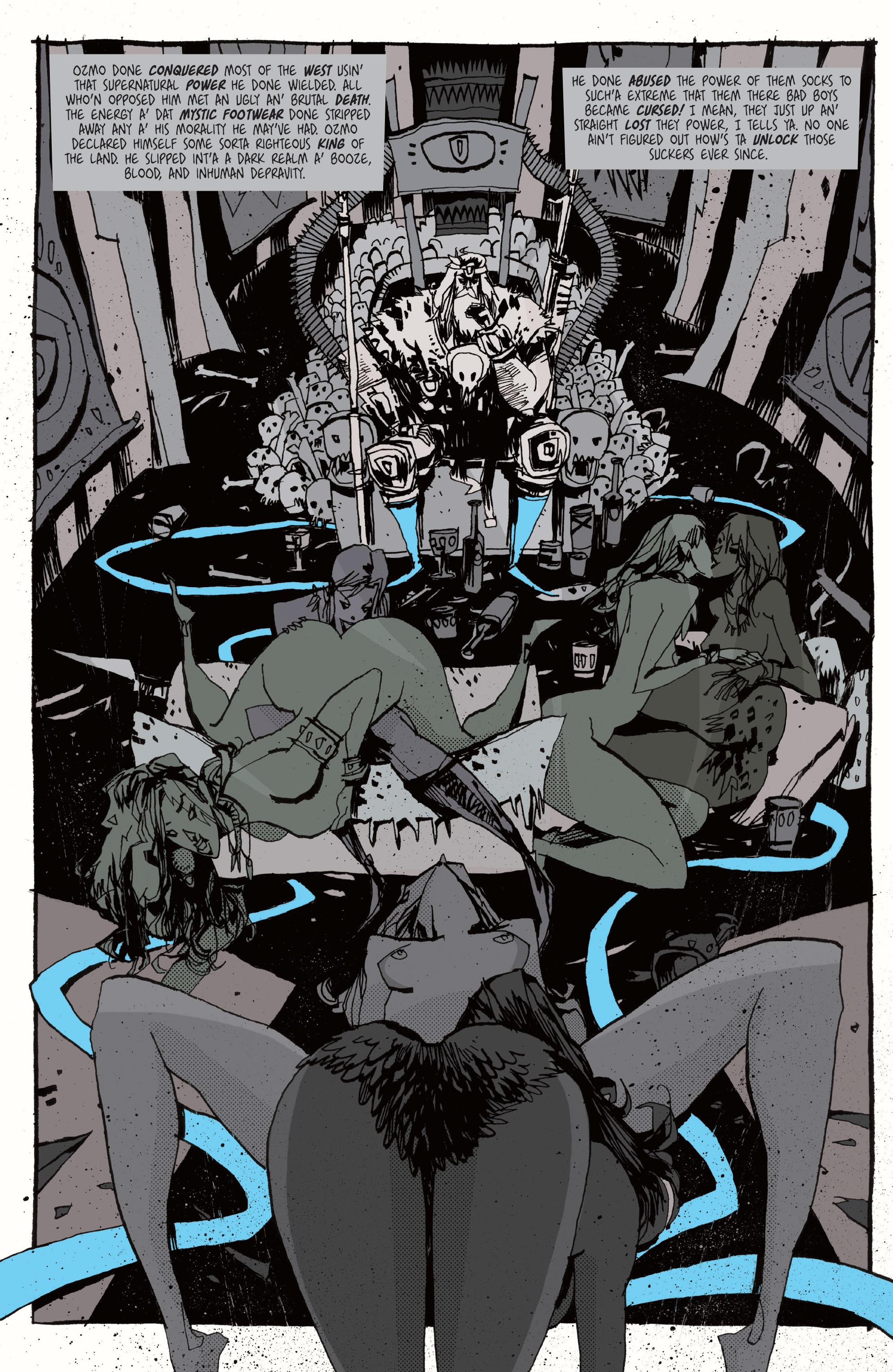 Read online Grrl Scouts: Magic Socks comic -  Issue #2 - 9