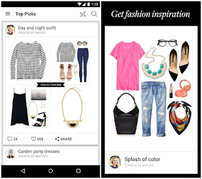 aplikasi fashion polyvore