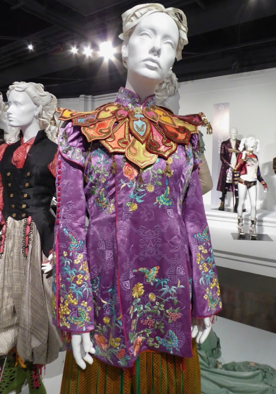 Alice Through Looking Glass Asian costume detail