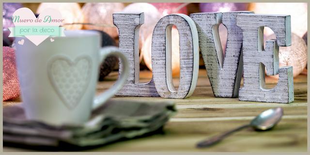 Cosas Bonitas: Letras Love