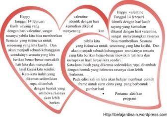 kata kata indah hari valentine