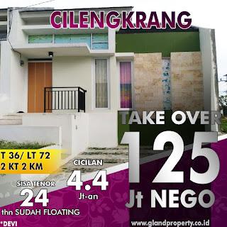 Rumah Take Over 125 JUTA Di Cilengkrang Dekat Ujungberung