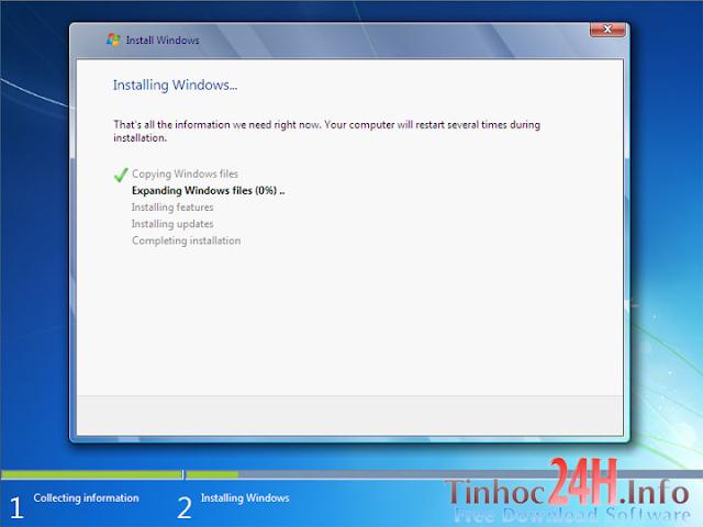 cài đặt windows 7