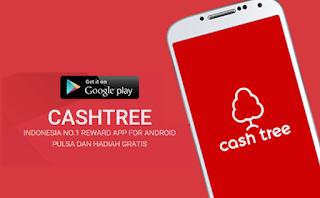 cara dapat pulsa gratis dari aplikasi cashtree