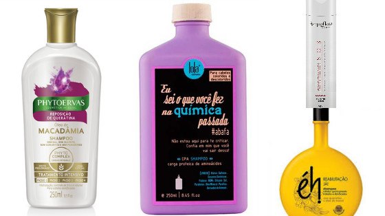shampoos reconstrutores low poo