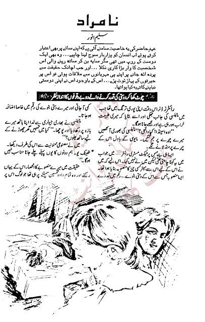 Free download Namurad novel by Saleem Anwar pdf