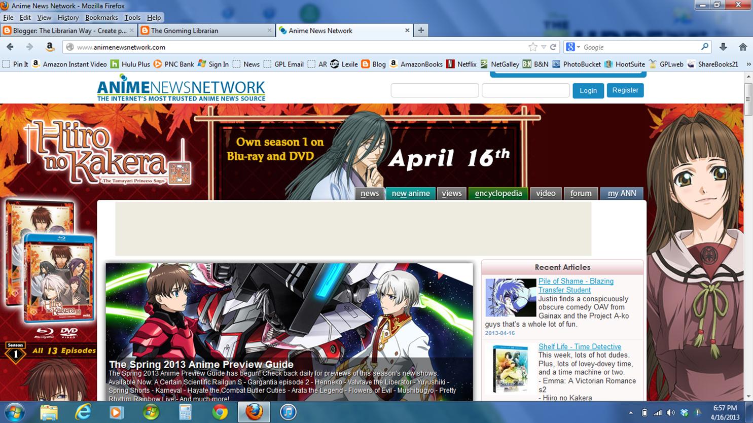 Anime News Network #