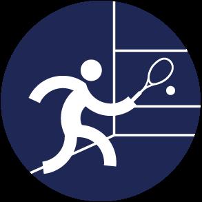 Icon Logo Squash Asian Games 2018