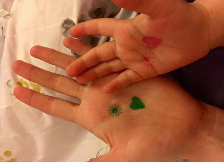 Have You Ever Spotted A Kid With A Tiny Heart Drawn On Their Wrist Here's What It Means!