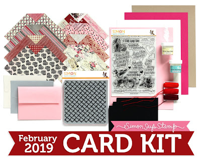 Simon Says Stamp Love Always February 2019 Card Kit