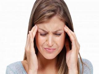 Gambar-5 Cara Meringankan Sakit Kepala Tanpa Obat dengan Pijatan